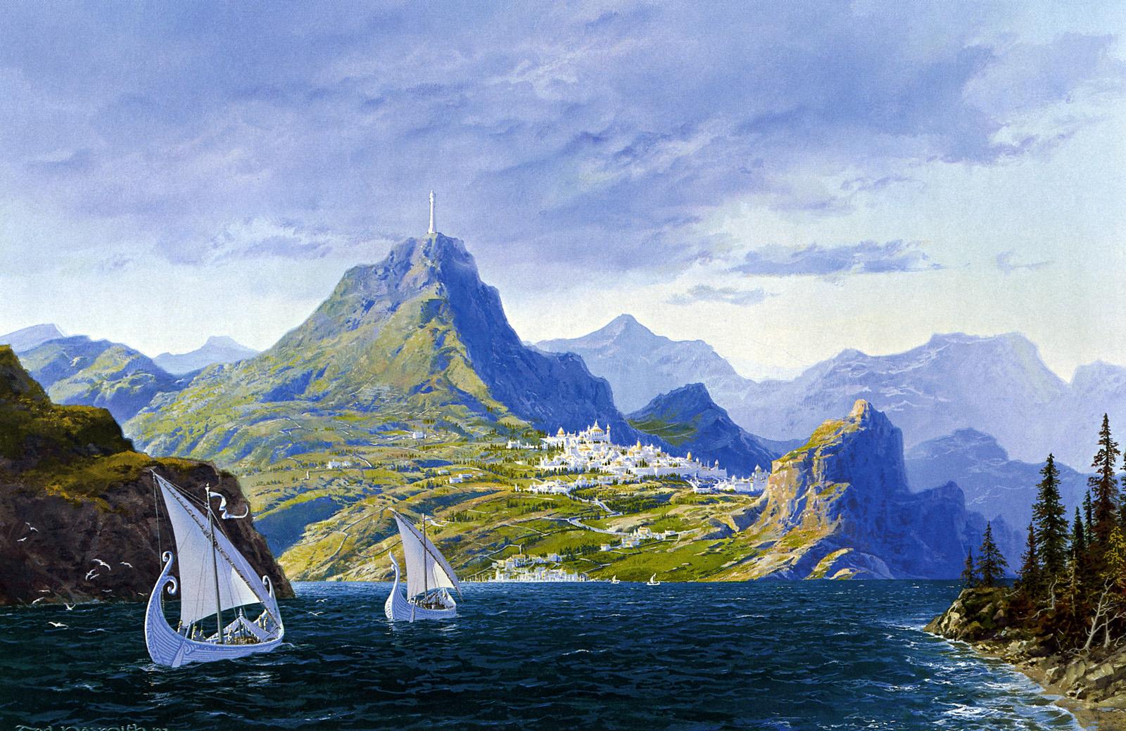 Tolkien Artwork Excerpts Songs